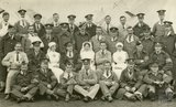 Group photo of medical staff, Bath War Hospital, Combe Park, Bath c.1916