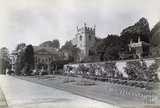 Widcombe Manor, Gardens and Church, c.1890