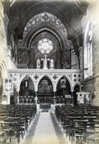 Interior of St John's Church, South Parade c.1890s