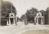 The entrance to Royal Victoria Park, Bath c.1885
