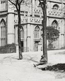 St. Mary's Church, Bathwick, Bath c.1895 - detail