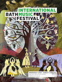 Poster for the International Bath Music Festival 2013