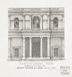 Engraving Argyle Chapel Bath Exterior 1862