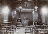 St. Barnabas Church, Twerton (temporary building interior) c.1880