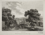 View near Bath (at Batheaston) 1785