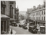 Northgate Street, Post Office, St. Michael's Church, Walcot Street and view of buildings in Northgate Street, Bath c.1935