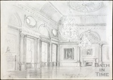 The Banqueting Room, Guildhall, Bath c.1930