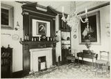 Interior of Linley House, 1, Old Orchard Street, Bath c.1930