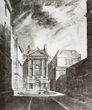 Ralph Allen's Town House as it may be seen in the future, Bath