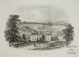 View of Camden Place &c. from Bathwick Park, Bath 1844