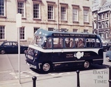 Assembly Rooms Trojan Bus, Bath c.1965