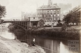 North Parade Bridge, Bath c.1890 - detail