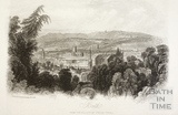 Bath (from the vicinity of Prior Park) 1848