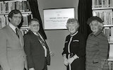 The Official Opening of the Midsomer Norton Library, 23 November 1983