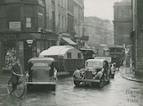 Busy traffic on New Bond Street and Burton Street, c.1930s