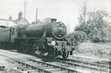 No.44804 leaves Evercreech Junction, c.1960