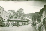 The marketplace at Dunster, Somerset, c.1930s