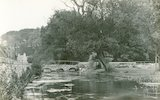 The river at Bibury, c.1920s