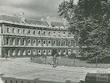 The Circus, Bath in dilapidated state, c.1940s