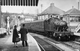 Engine no.4567 at Radstock Station, April 8th 1958
