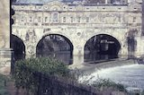 Pulteney Bridge and weir, c.1965