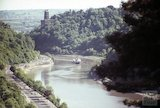 The Clifton Suspension Bridge and the Avon Gorge, Bristol, c.1960s