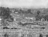 View of Grosvenor and Larkhall form the Warminster Road c.1936 - detail