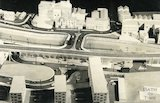 Architect's model for a proposed development of flats at the bottom of Holloway, c.1965