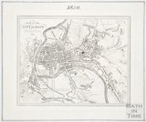 Plan of the City of Bath 1850