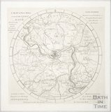 A Map of 5 Miles Round the City of Bath 1815