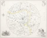 Map of the country seven miles round the city of Bath 1862