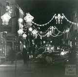 Milsom Street Christmas Lights, 8th December 1980