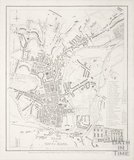Plan of the City of Bath 1851