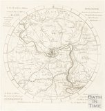A Map of Five Miles Round the City of Bath, Accurately Reduced for the Original Bath Guide c.1830?