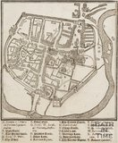 Thomas Johnson's Plan of Bath 1634