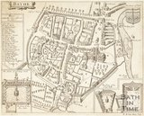 Plan of the City of Bath (Bathe) 1676