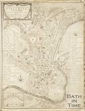 A New Accurate Plan of the City of Bath 1790?