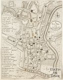 A New Plan of the City of Bath 1794