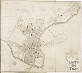 1796 A New and Accurate Plan of the City of Bath to the present year