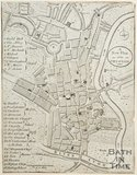 A New and Plan of the City of Bath 1749?