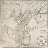 A New and Correct Plan of the City of Bath 1805