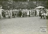 Attendees at the mayoral garden party, Royal Victoria Park, June 20 1929