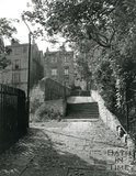 Steps through Hedgemead Park, Bath, 1974