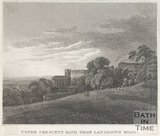 Upper Crescent from Lansdown Road, Bath, c.1800?