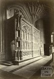 Prior Bird's Chapel, Bath Abbey, Bath c.1880