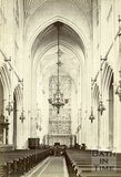 The nave looking east, Bath Abbey, Bath c.1880