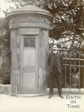 The city watchman's sentry box at Norfolk Crescent, Bath c.1905