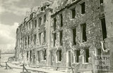Lansdown Place East, Bath devastated during the Bath Blitz 1942