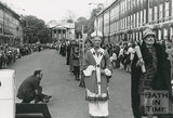 Monarchy 1000, Procession, Kings and Queens through the Ages Edgar (in front), May 1973, Bath