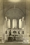 The mineral water fountain, Pump Room, Bath c.1868